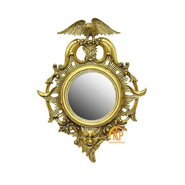 khung gương composite 14017 hoa văn