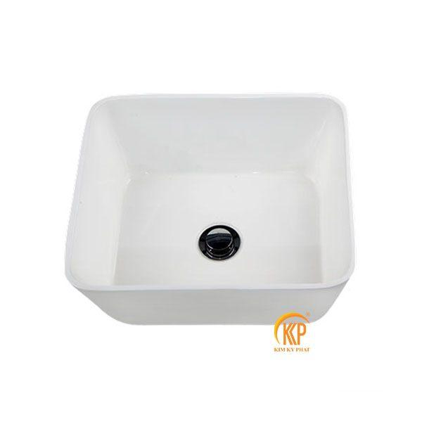 bồn rửa lavabo composite 31005 hình vuông