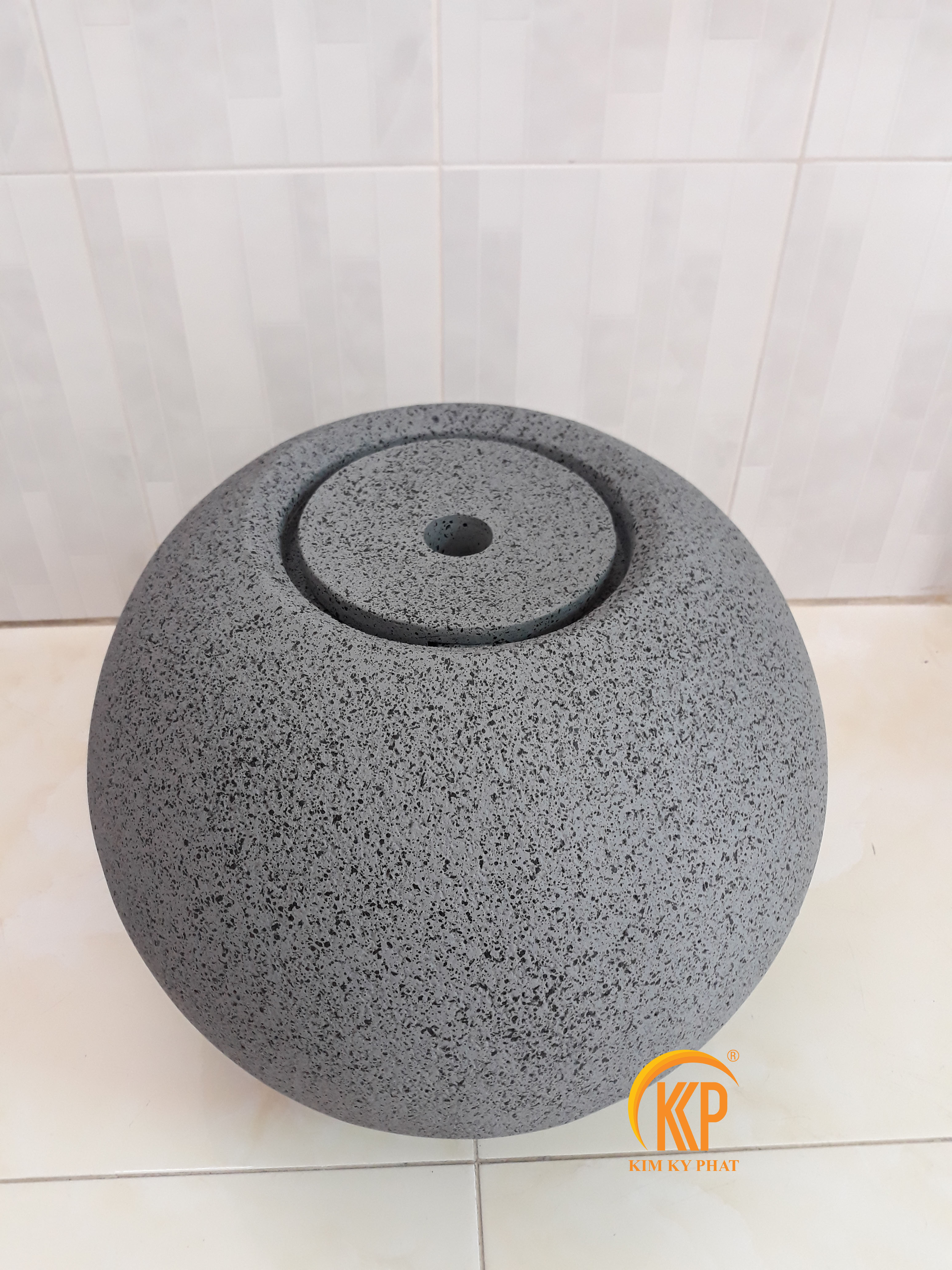đài phun nước composite giả đá