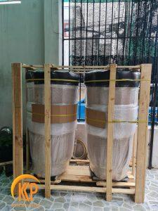xưởng sản xuất chậu cây composite