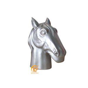 fiberglass animal head statue 18022