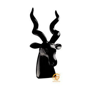 fiberglass animal head statue 18052