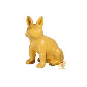 fiberglass animal figure decor 18073