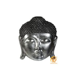 fiberglass buddha head statue 13006