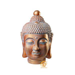fiberglass buddha head statue 13011
