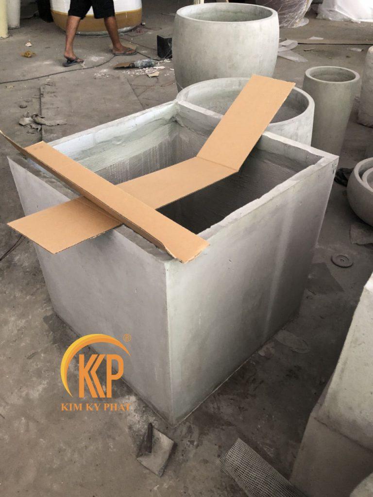 công ty sản xuất chậu xi măng lightweight concrete pot