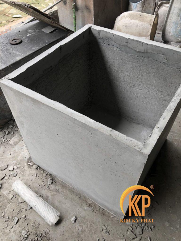 lightweight concrete pot